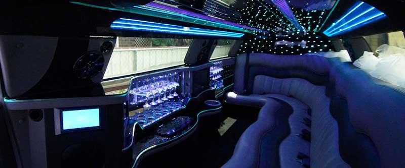 Super Stretch Limousine Interior